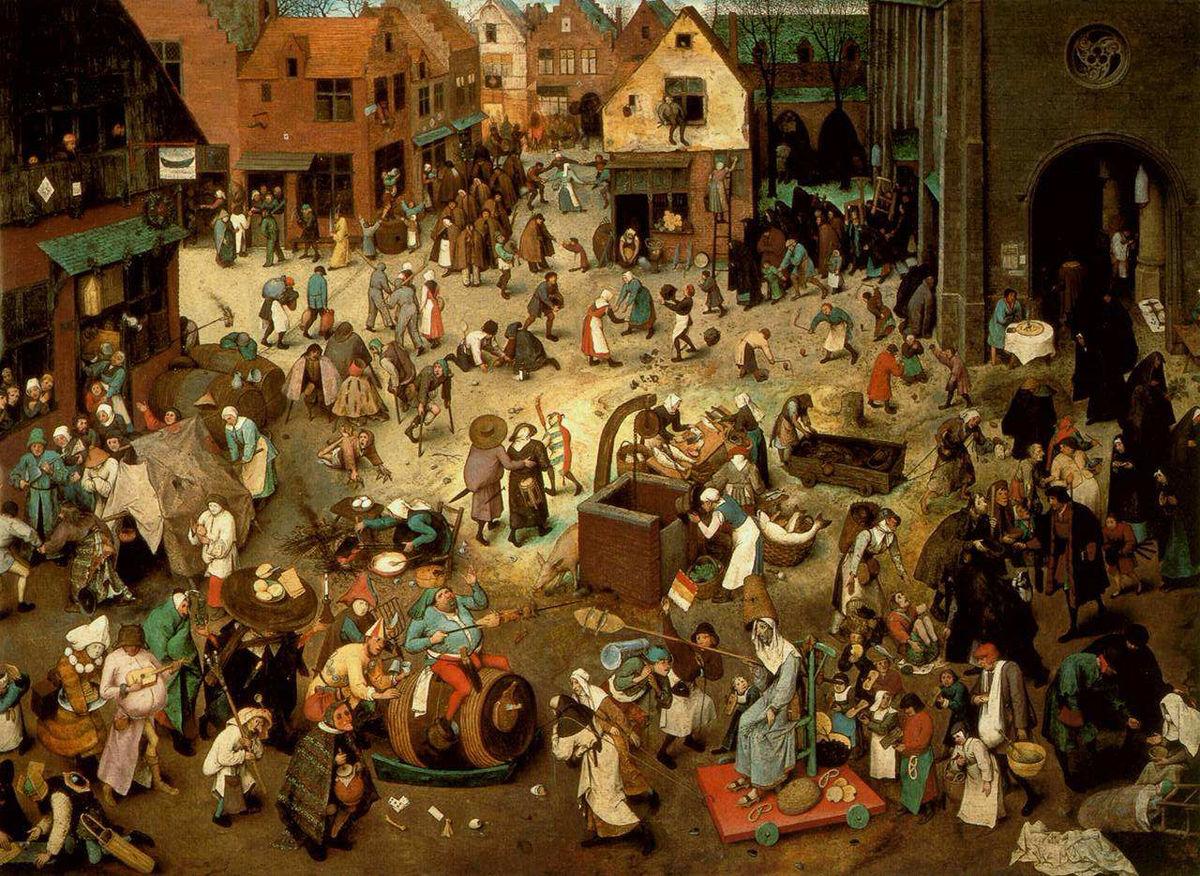 Il Carnevale: rito, appetito, sovversione.
